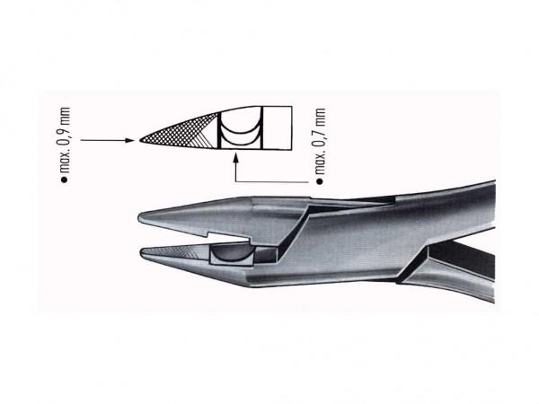 Schwert 5604 Krampon-Zange Crovana Spitze max. 0,9mm