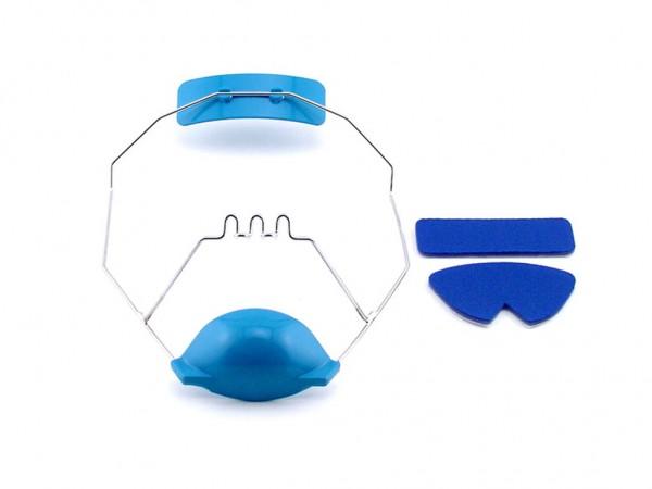 Stirnplate Ersatz für Gesichtsmaske Delaire modifiziert