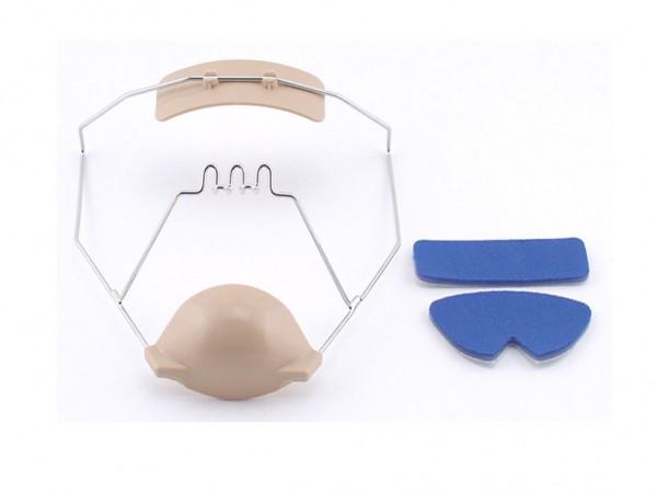 Gesichtsmaske Delaire modifiziert