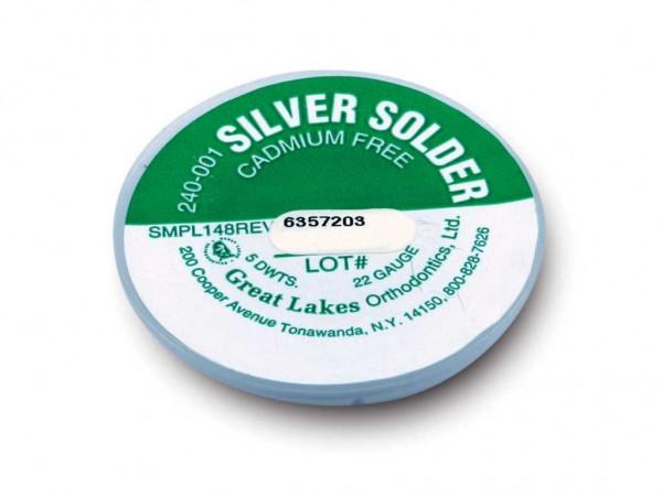 Silberlot cadmiumfrei